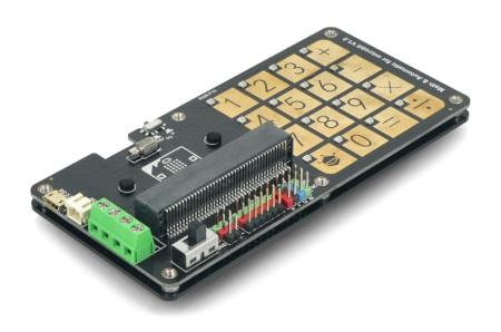 micro:Touch Keyboard - matematyczna i automatyczna klawiatura dotykowa.