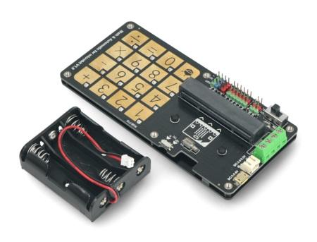 Klawiatura wyposażona w 16 dotykowych przycisków, podświetlanych diodami LED w gamie RGB.