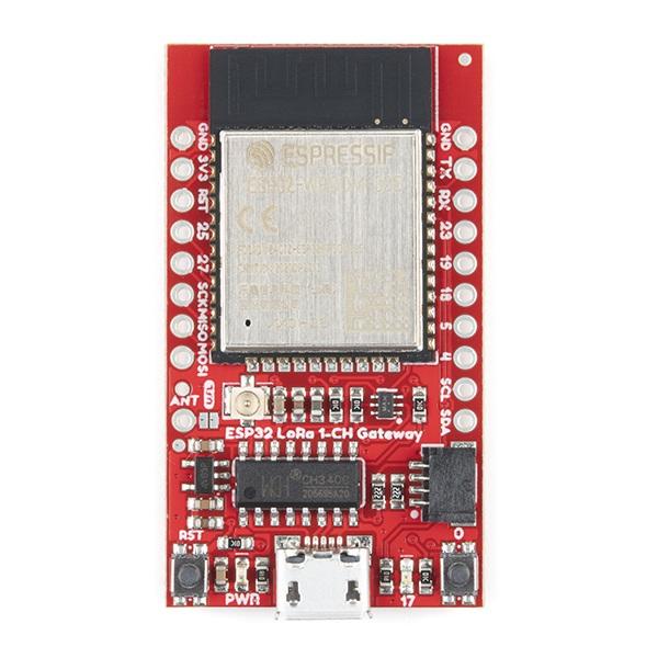 Modem RFM95W obsługuje pasma868 MHz i915 MHz.