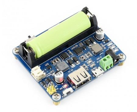 Moduł zarządzania energią słoneczną z akumulatorem 14500. Akumulator należy kupić osobno.