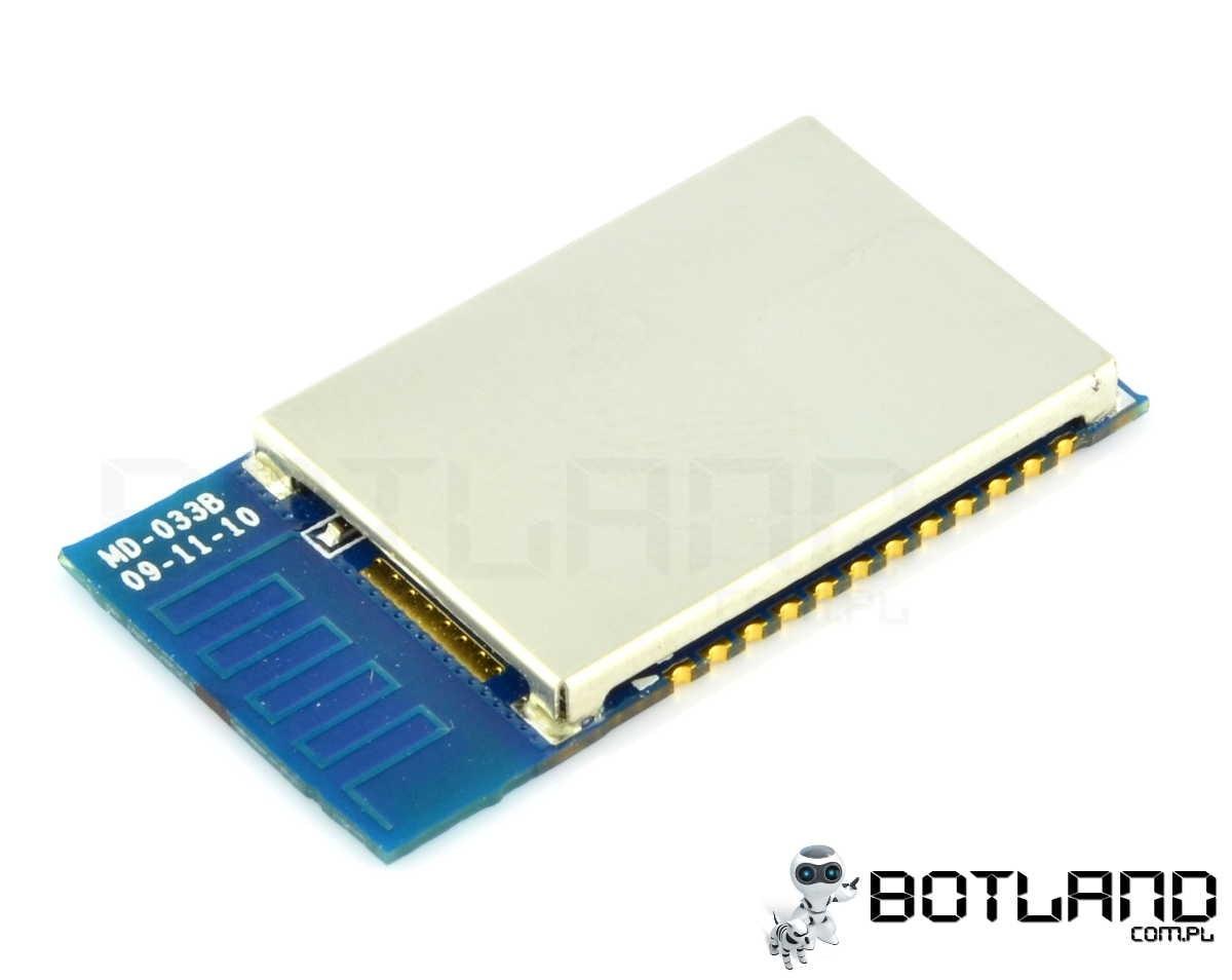Moduł Bluetooth, komunikacja SPI, PCM, USB, UART. class 2