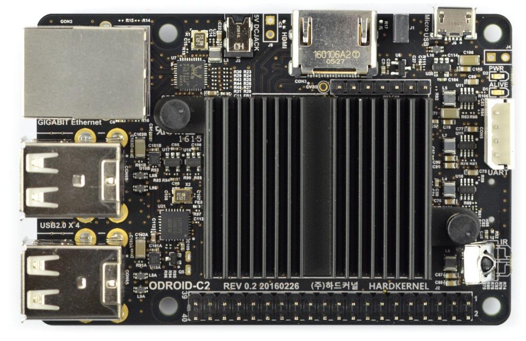 Odroid C2 Quad-Core 2GHz 2GB RAM